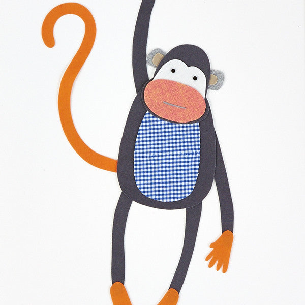 Monkey Artwork - Large