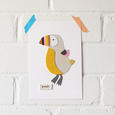 Puffin Artwork - Small