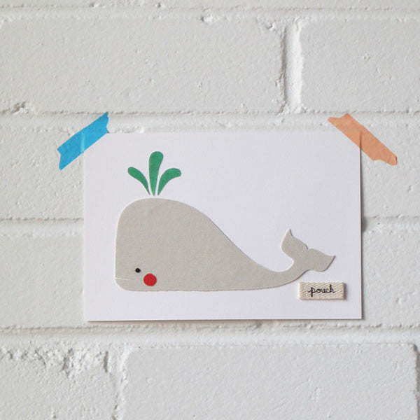 Whale Artwork - Small