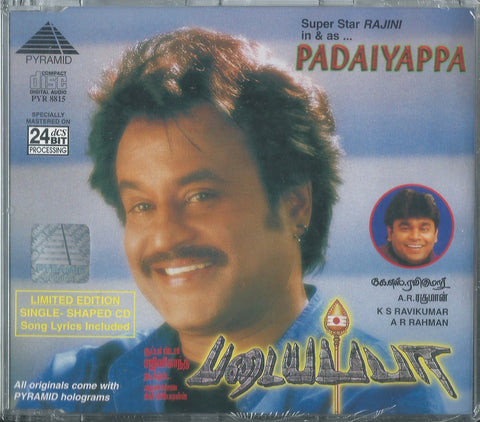 Buy Pyramid tamil film audio cd of Padaiyappa online from greenhivesaudio.com