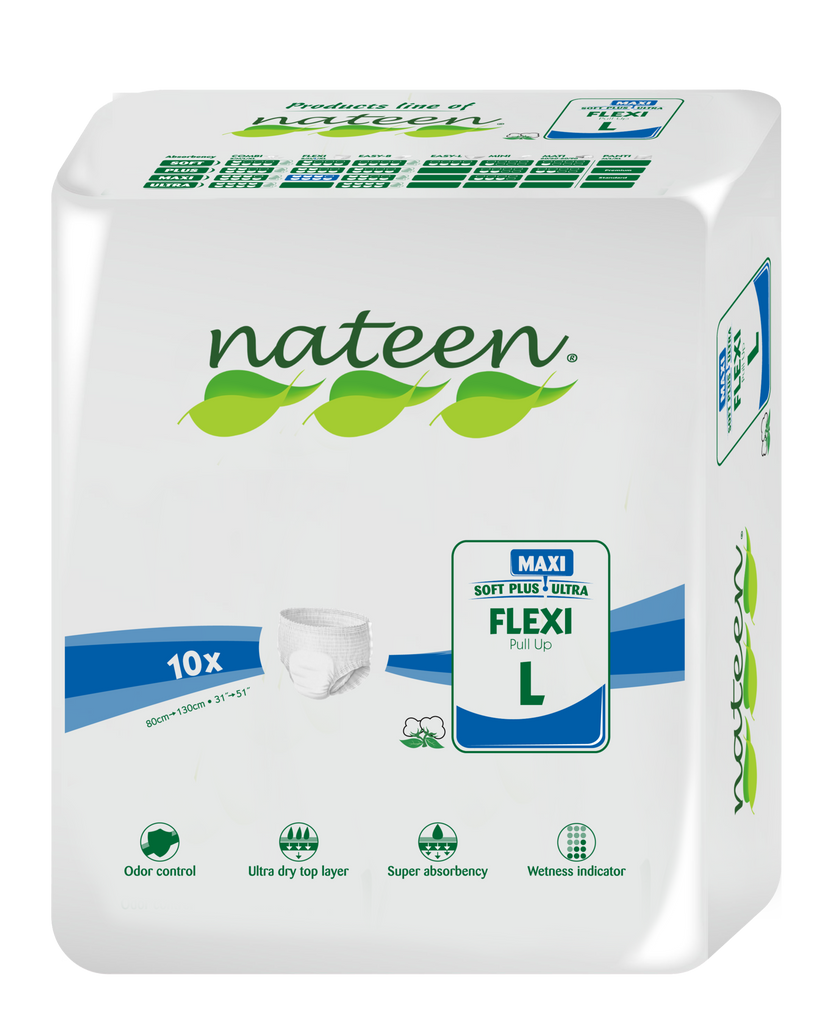 PREMIUM - Nateen FLEXI MAXI Pull Up (L) >3450ml - pack of 10