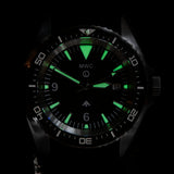 MWC Heavy Duty 300m Military Divers Watch in PVD Steel Case (Automatic) Latest Model with Ceramic Bezel and Sapphire Crystal