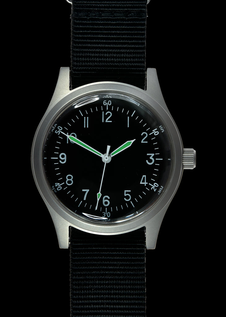 A-11 1940s WWII Pattern Military Watch (Handwound)