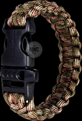 MWC Straight D Shackle With Screw Pin for Making Nylon Paracord Bracelets