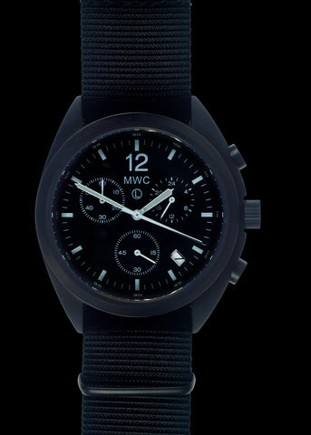 2020 Limited Edition MWC 100m Water Resistant Stainless Steel Swiss Airline Pilots Chronograph