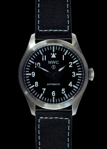 MWC Classic 100m Water Resistant Watch - Limited Edition with Cream Dial & 24 Jewel Automatic Movement