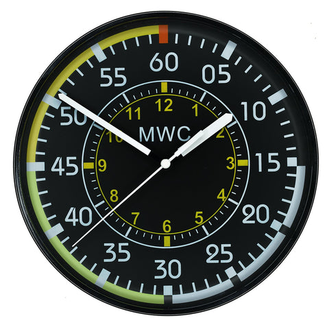 MWC Aircraft Instrument Airspeed Indicator Wall Clock