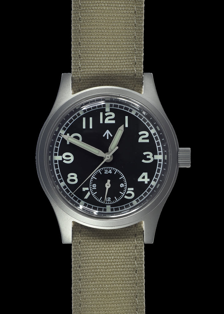 "MWC 1940s/1950s ""Dirty Dozen"" Pattern General Service Watch with Hybrid Mechanical/Quartz Movement"