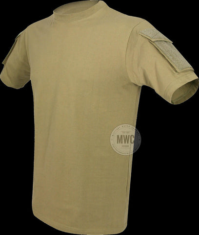Police / Military Tactical T Shirt with Two Pockets (Available in Black, Olive, Titanium and Desert)