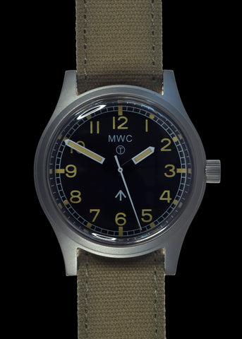 MWC 1940s to 1960s Pattern General Service Watch with 24 Jewel Automatic Movement (Retro Dial Variant)
