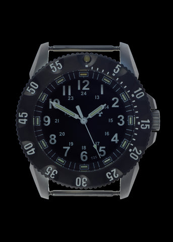 MWC P656 Tactical Series Watch with GTLS Tritium and Ten Year Battery Life (Non Date Version)