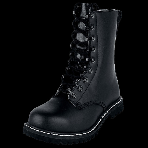 Ex 42 Uk Quality 8 Pattern Paratroopers German BootsspringerstiefelSize High Display Leather AjLqR354