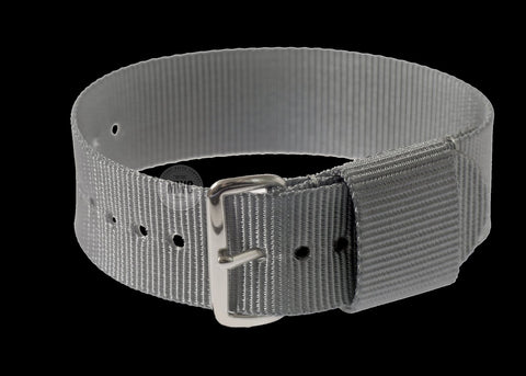20mm US Pattern Grey Military Watch Strap