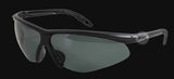 Tactical Military Security/Police Sunglasses with Smoke Polycarbonate Lenses