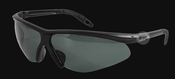 bdec6994ad Tactical Military Security Police Sunglasses with Smoke Polycarbonate Lenses