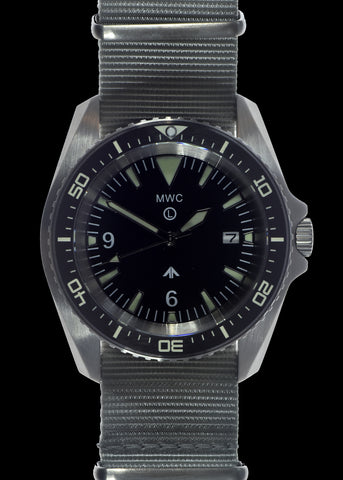 MWC Military Divers Watch Stainless Steel (Automatic) With Sapphire Crystal and Ceramic Bezel