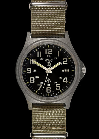 G10SL MKVI 300m Water Resistant Military Watch with GTLS Tritium Light Sources and Sapphire Crystal
