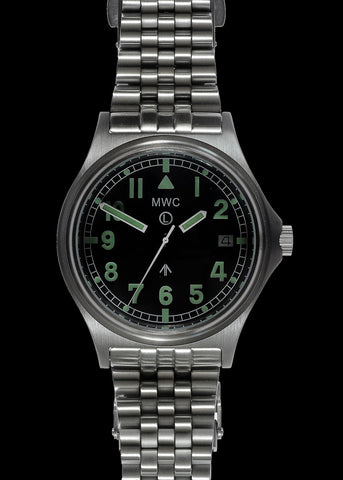 MWC G10 Automatic 300m / 1000ft Water resistant  Stainless Steel Military Watch with Sapphire Crystal on Bracelet