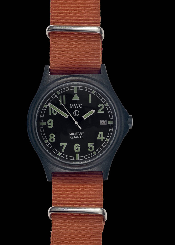 MWC G10 50m PVD SAR / Coastguard Watch with Battery Hatch, Solid Strap Bars and 60 Month Battery Life