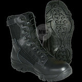 Black Leather and Cordura Tactical Police / Security Boots - Only Available in Size 9 at Half Price to Clear