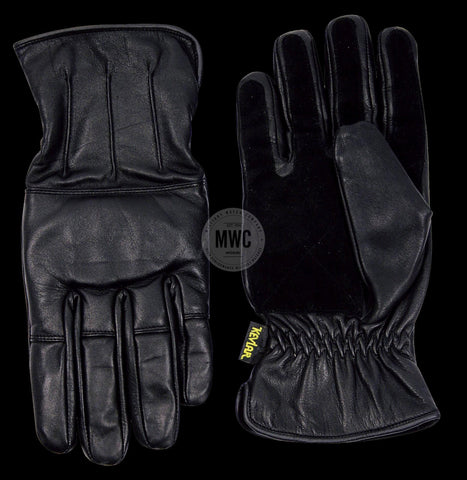 Professional Kevlar Lined Security / Police Gloves with Sand on Knuckles Etc