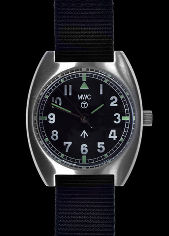 MWC W10 1970's Pattern 24 Jewel Automatic Military Watch with 100m Water Resistance (Non Date Version)
