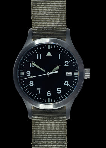 MWC Mk III Stainless Steel 1950's Pattern 100m Water Resistant Automatic Military Watch with Sapphire Crystal (Limited Edition of Just 25 Pieces)