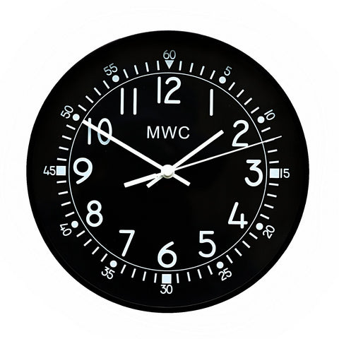 MWC US 1940s/50s Pattern Retro Military Wall Clock