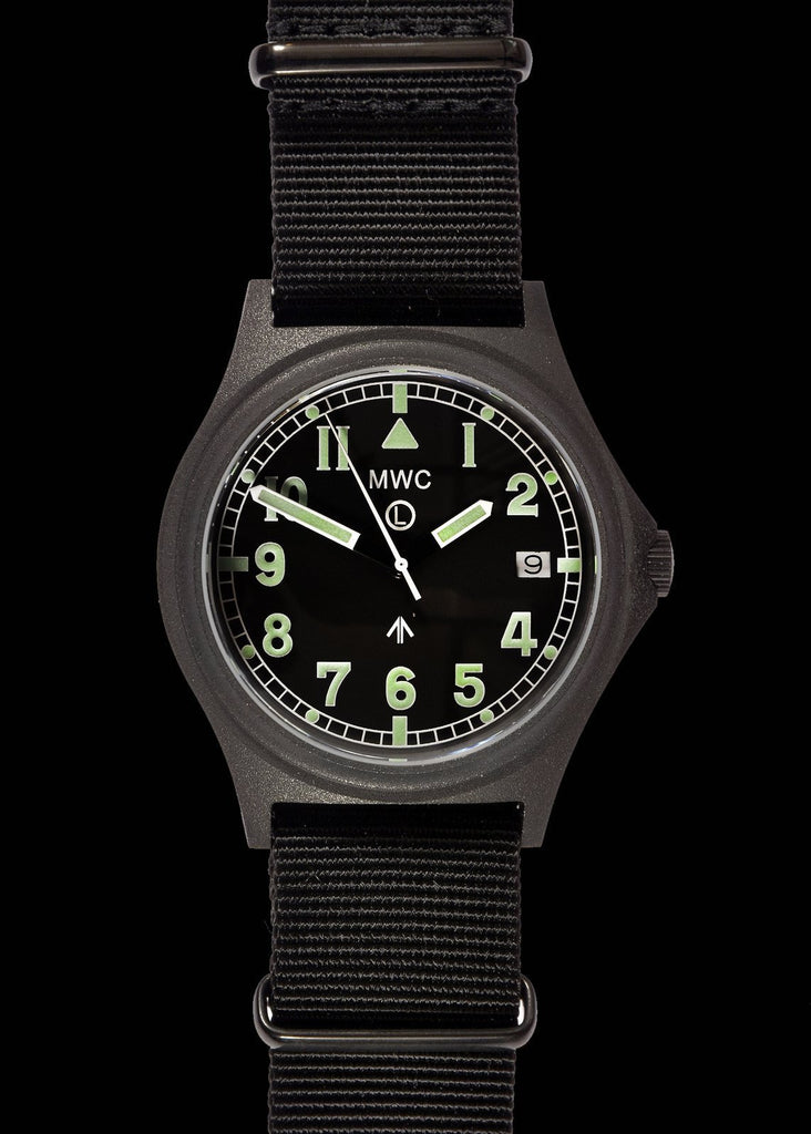 MWC G10 100m PVD Stealth Military Watch with Sapphire Crystal and Screw Crown & Caseback
