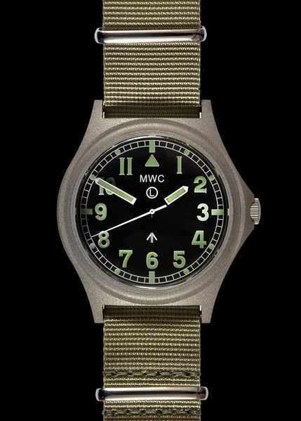 MWC G10 300m / 1000ft Water resistant Stainless Steel Military Watch with Sapphire Crystal (Non Date)
