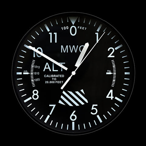 MWC US Military Pattern Retro Wall Clock