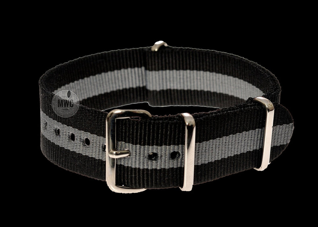 "20mm ""Bond 2"" NATO Military Watch Strap"