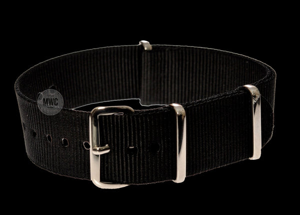 ea0773fff10 18mm Black NATO Military Watch Strap – MWC (Europe)
