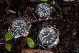 MWC Military Divers Watch in Stainless Steel Case (Quartz)