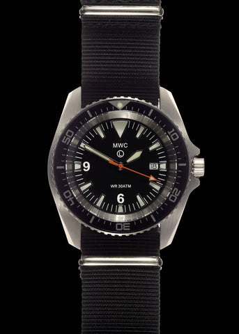 MWC Military Divers Watch in Stainless Steel Case (Automatic)