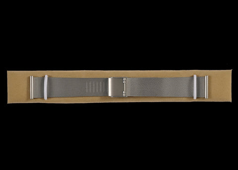 Retro 1950's / 60's Style 20mm Metal Watch Band