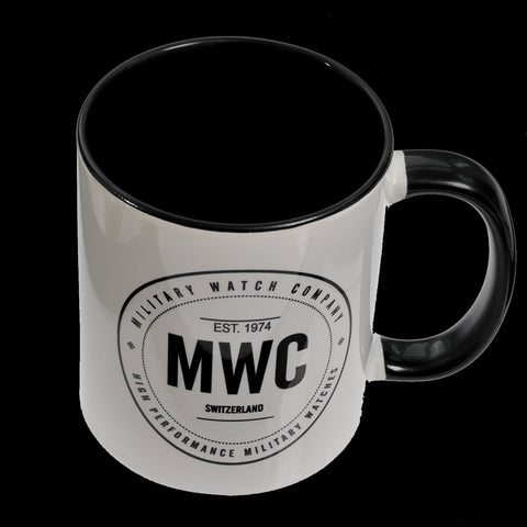 MWC White Mug with Black Interior