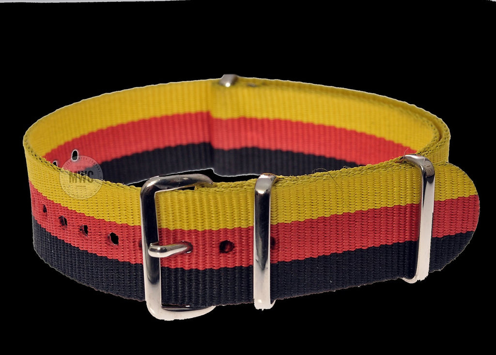 "20mm German ""Bund"" NATO Military Watch Strap"