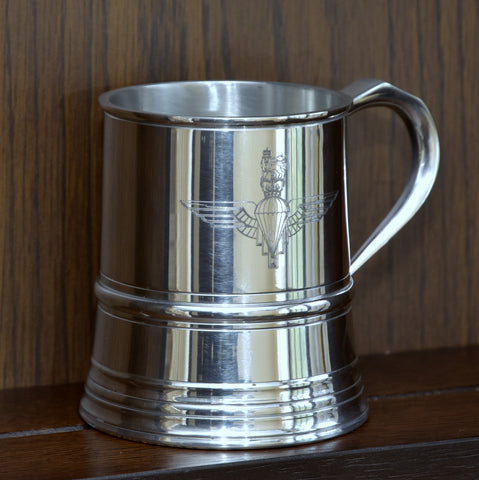 James Yates One Pint 19th Century Pattern Pewter Baluster Tankard - This is an Exact Remake of the original