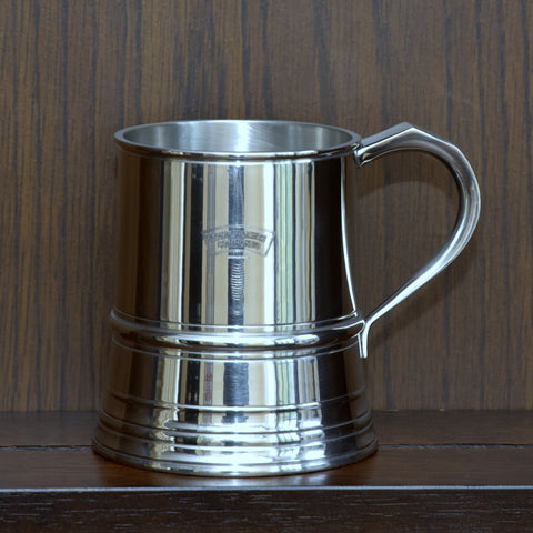 One Pint 19th Century Pattern Pewter Baluster Tankard - This is an Exact Remake of the original