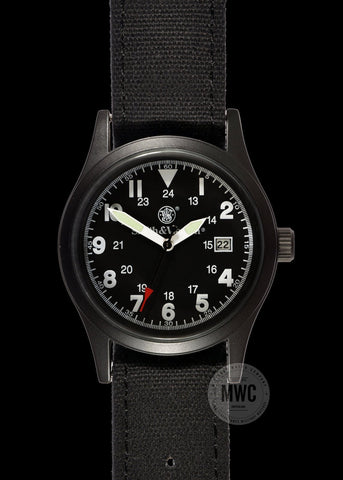 Smith & Wesson Men's Black Military Watch with 3 Interchangeable Straps