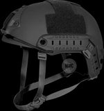 Tactical / Reconnaissance Helmet with External fittings for a camera, flashlight/torch etc.