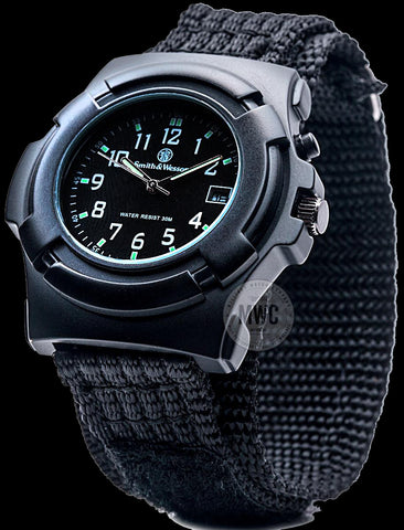 Latest Black Smith & Wesson Military Tactical Commando Watch