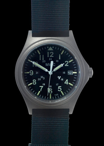 MWC 45th Anniversary Limited Edition Titanium Military Watch, 300m Water Resistant, 10 Year Battery Life, Luminova and Sapphire Crystal - Watch Used for Images and Promotion