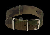18mm Woodland Camouflage NATO Military Watch Strap