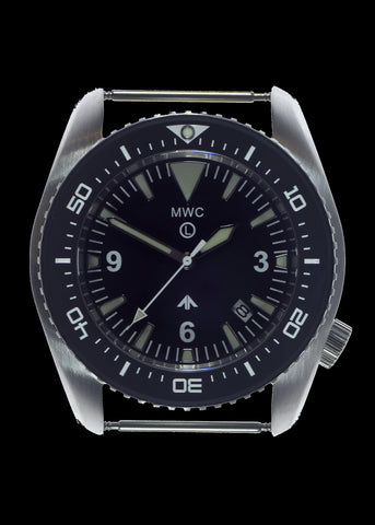MWC 500m (1650ft) Water Resistant Stainless Steel Automatic Divers Watch With Sapphire Crystal, Ceramic Bezel and Helium Valve