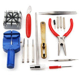 16 Piece Clock And Watch Repair Kit