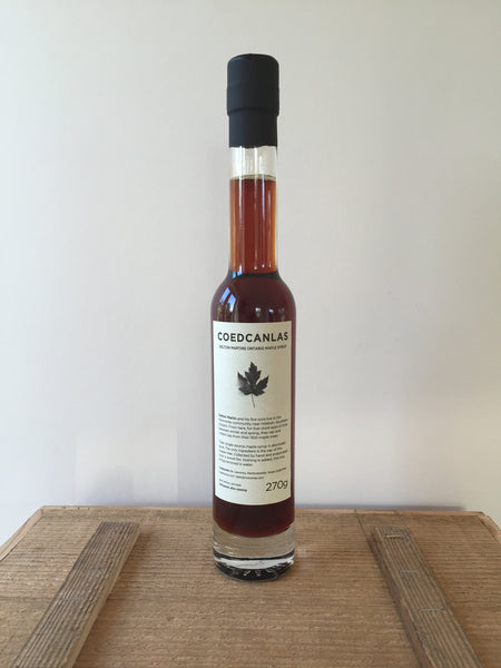 Maple Syrup, amber 270g
