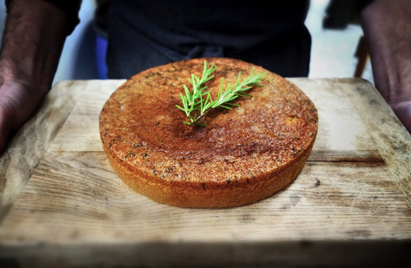 Olive Oil, Rosemary and Lemon Cake