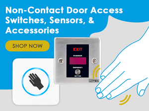 Reduce Risk with Non-Contact and Anti-Microbial Switches